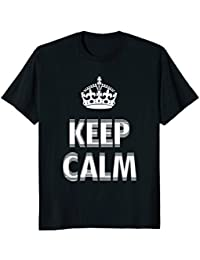 Nervous Keep Calm Shirt, Trendy, Crown, Shaky, Funny Shirt