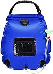 N\\A 20L Water Bags Outdoor Camping Shower Bag Solar Heating Portable Folding Hiking Climbing Bath Equipment S