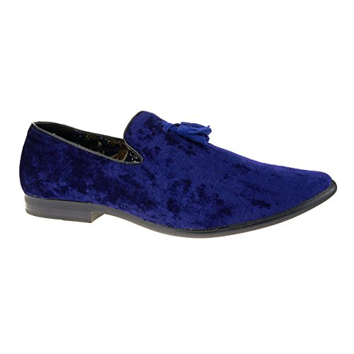 Sandalias Con Azul Cuña London Footwear Hombre PFqgW5wp