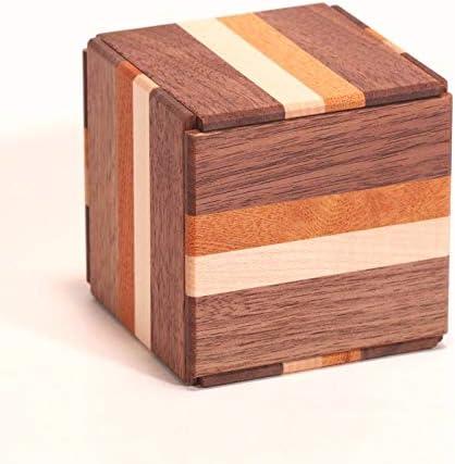 Caja de secretos Himitsu Bako de Japón 3 suns 14mouvements Cube: Amazon.es: Hogar