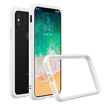 RhinoShield Estuche Parachoques para iPhone X [CrashGuard] | Cubierta Protectora de diseño Delgado con amortiguación [Protección de caída de 3.5 M] - ...
