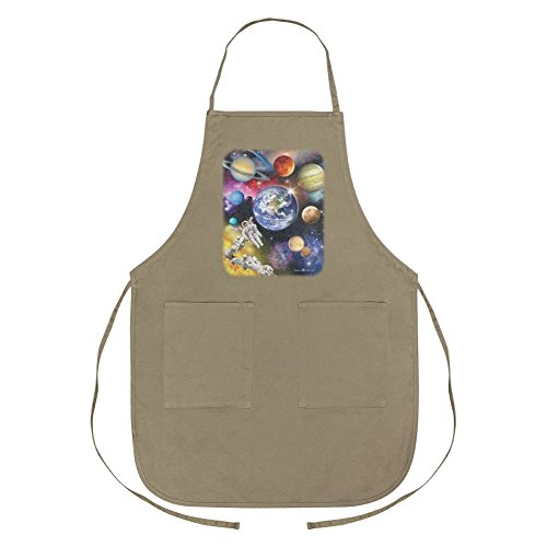 Graphics and More Solar System Planets Space Earth Saturn Jupiter Mars Apron with Pockets by Graphics and More