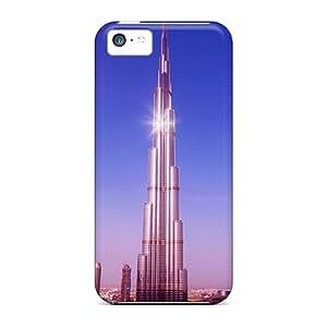 Hot Style PKo30446MYCe Protective Cases Covers For Iphone5c(burj Khalifa)