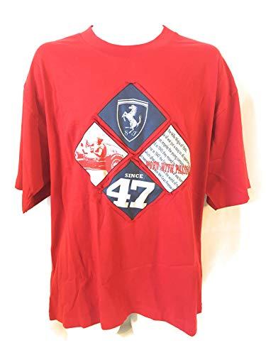 Ferrari Red Diamond Logo Tee - Michael Schumacher T-shirt