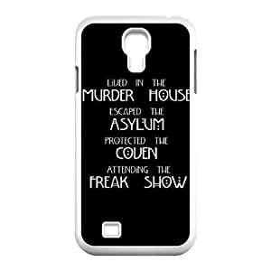 Personalized Cover Case with Hard Shell Protection for SamSung Galaxy S4 I9500 case with American Horror Story lxa#310622