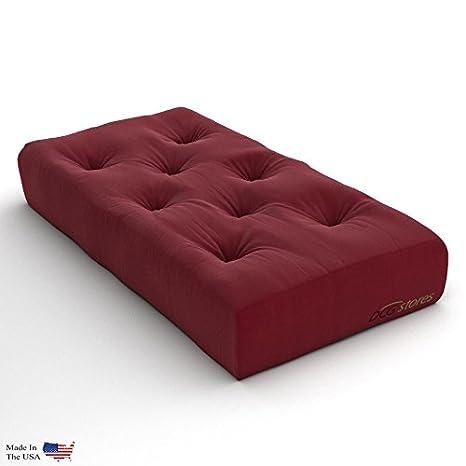 Amazon.com: Nirvana Futons - Colchón de futón extra grueso ...