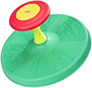 Playskool Sit 'n Spin Classic Spinning Activity Toy for Toddlers Ages Over 18 Months  (Amazon Exclusive),Multi
