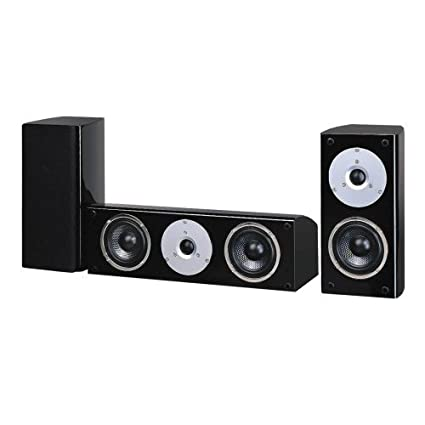 Pure Acoustics Noble Series 4 Inch Surround And Center Speaker Set High Gloss