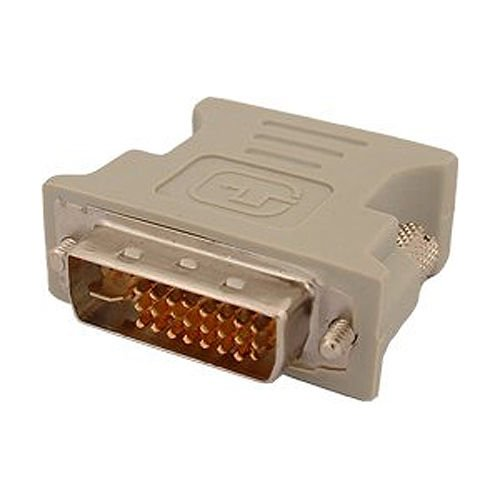 Dollar Faceplate (Dvi Male Adapter (Dvi - D 24 1) To Female Vga (15-Pin))