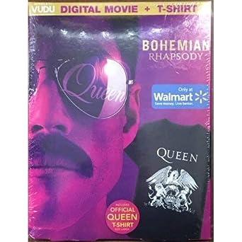 Amazon com: Bohemian Rhapsody Digital Movie Code for Vudu +
