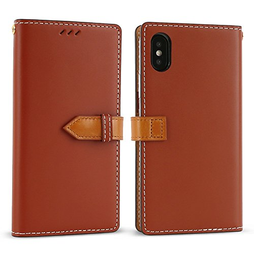 Cowhide Leather Skin Case (iPhone X Case (5.8