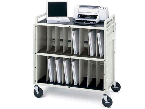 Bretford Laptop Storage Cart LAPTG15ESA-GM - notebook storage - Cart Computer Storage Bretford Laptop