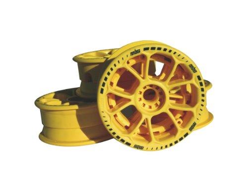 MBS Twistar Hub Set-Yellow