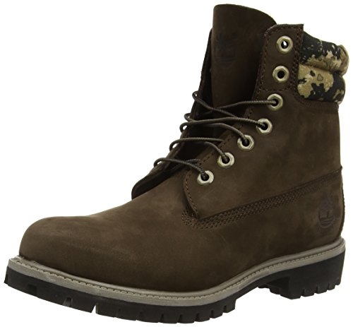 Timberland 6 Boot FTB Marrone Collar Marrone 6 Uomo Stivali in Boot in Double rfUqwrTxSn