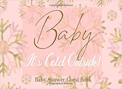 Labor or Beer or Baby Girls Baby Shower Games Bundle Pink Baby Its Cold Outside Snowflakes Winter Wonderland Printable