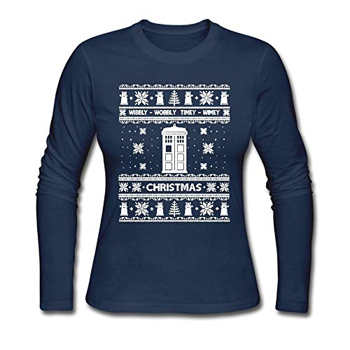 Ugly Christmas Sweater Doctor Who T-Shirt