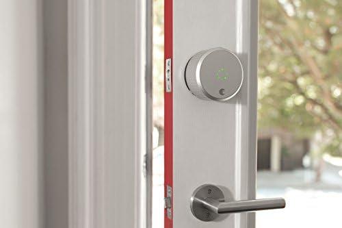 August Smart Lock (HomeKit Enabled / Dark Gray) 41vMQ1ZTk 2BL