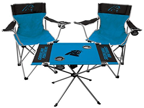 (NFL Carolina Panthers Tailgate Kit, Team Color, One Size)