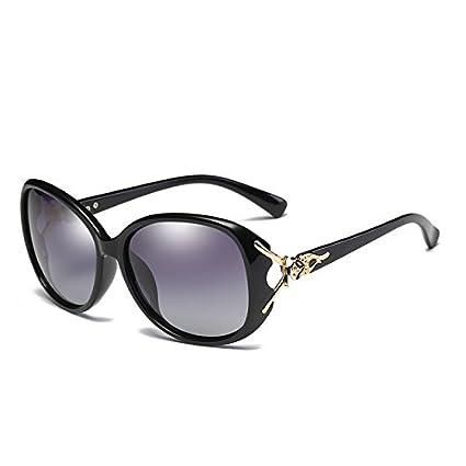 Fygrend Marca Mariposa Gafas de Sol polarizadas de Gran Tama?o Mujeres Gradiente HD Se