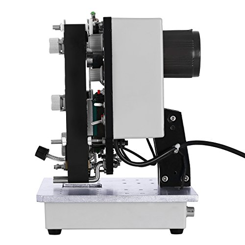 BestEquip Thermal Foil Stamp Printer 200W Semi-Automatic Hot Stamp Printer Coding Machine Electric Ribbon Coder Code Printer for Different Seal Material and Color Bar by BestEquip (Image #3)