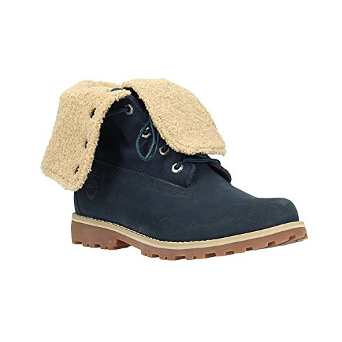 Timberland Unisex Kids' 6 inch Waterproof Shearling Boot Blue (Navy) grMdyzSn