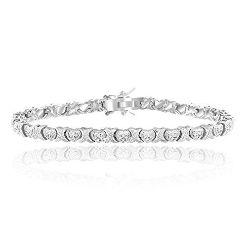 Gold Diamond Tennis Bracelet - 3