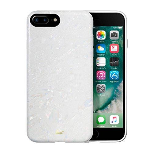LAUT - POP ARCTIC PEARL case für iPhone 8 Plus / iPhone 7 Plus / iPhone 6/6s Plus mit Anti-scratch mehrlagigem Schutz (Arctic Pearl)
