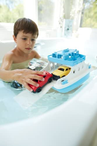 toys, games, baby, toddler toys,  bath toys 6 picture Green Toys Ferry Boat with Mini Cars Bathtub promotion