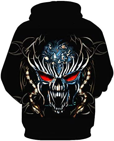 Sweatshirts Tops T-Shirts Kapuzenpullover Kleidung Herbst Mode Mann/Frau 3D Hoodie lustiger Clown Cartoon Tierdruck Sportswear^ Picture_Color_XXXL