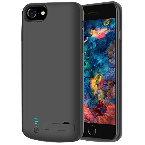 RUNSY Battery Case Compatible with iPhone SE 2020/8 / 7 / 6S / 6, 5500mAh Rechargeable Extended Battery Charging Case…