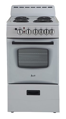 Avanti ER20P0WG Electric Range White