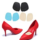 Facial Pain On Airplane - Dunnomart 1 Pair Silicone Shoe Insole Gel Toe Pads Forefoot Shoes Cushion Women High Heel Half Insole Feet Pain Relief Pedicure Foot Care