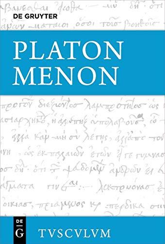 Menon (Sammlung Tusculum) (German Edition)