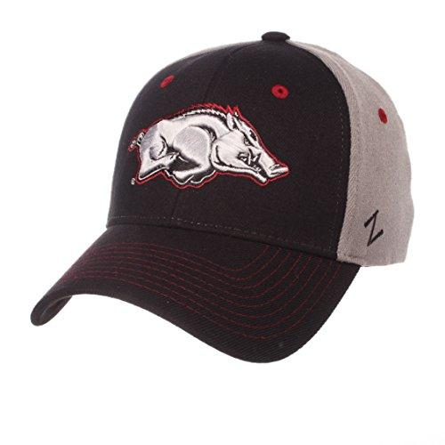 Zephyr NCAA Arkansas Razorbacks Men's Duo Hat, X-Large, (Razor Duo)