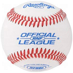 (Rawlings Rnf Nfhs Official League Leather Baseballs.)