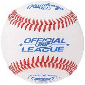 - Rawlings Rnf Nfhs Official League Leather Baseballs.