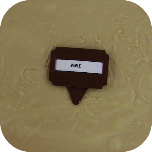 Maple Fudge Gift Box - Home Made Creamy Maple Fudge - 1 Lb Box