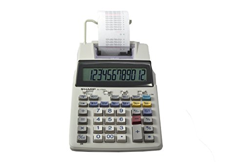 small adding machine with tape - 6