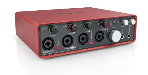 Focusrite Scarlett 18i8 (1st GENERATION) 18 In/8 Out USB 2.0 Audio Interface with Four Focusrite Mic Preamps