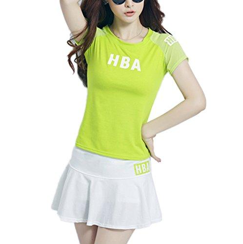 国際洞察力弓レディース ゴルフウェア 上下セット ポロシャツ スカート キュロットカジュアル 可愛い スポーツウェア おしゃれ ゴルフ テニスウェア 大きいサイズ 3色