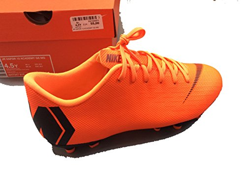 De De Enfant Football Mg Mercurial Mercurial Orange Vapor Academy Xii noir Nike Jr Mixte Chaussures 0qvw11