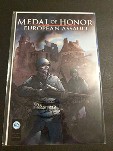 Medal of Honor #0 Variant Cover Comic Book - EA Games Video Game Promotional Comic - World War II - WW2