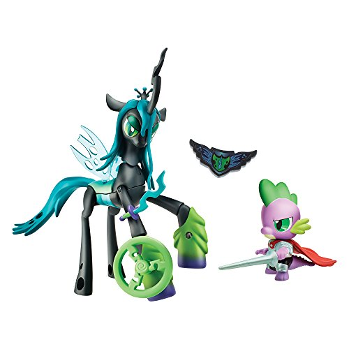 Queen Chrysalis v. Spike the Dragon