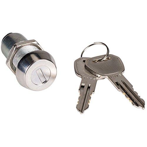 (Parts Express Key Switch SPST Panel Mount with 2 Keys)