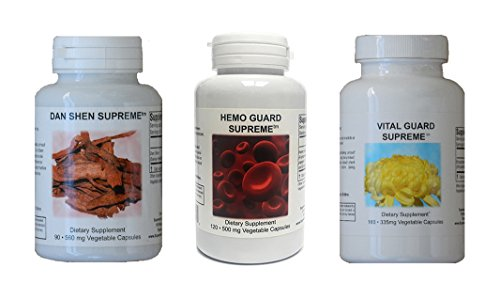 Herbal Heart Pack - Supreme Nutrition Heart Support Pack - Pack of 3
