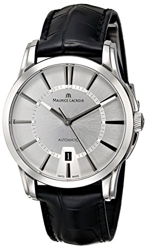 Maurice-Lacroix-Mens-PT6148-SS001-130-Pontos-Analog-Display-Swiss-Automatic-Black-Watch
