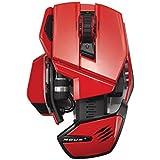 Mad Catz M.O.U.S. 9 Wireless Mouse (Red) [Importación Inglesa]