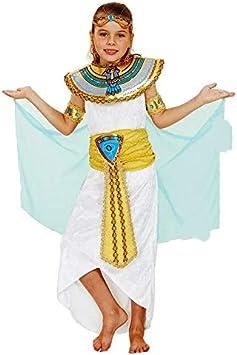 Disfraz de Diosa Cleopatra Afrodita para niños Cosplay, Carnaval y ...