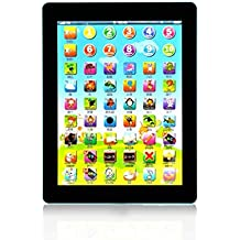Asatr Children Multi-function Learning Touch Tablet Pad Computer Education Electronic Learning Toys(7.7 x 0.6inch)