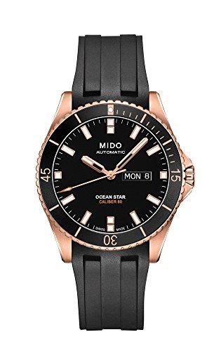 mido-ocean-star-captain-v-m0264303705100-black-black-rubber-analog-automatic-mens-watch